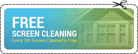 Free Screen Cleaning